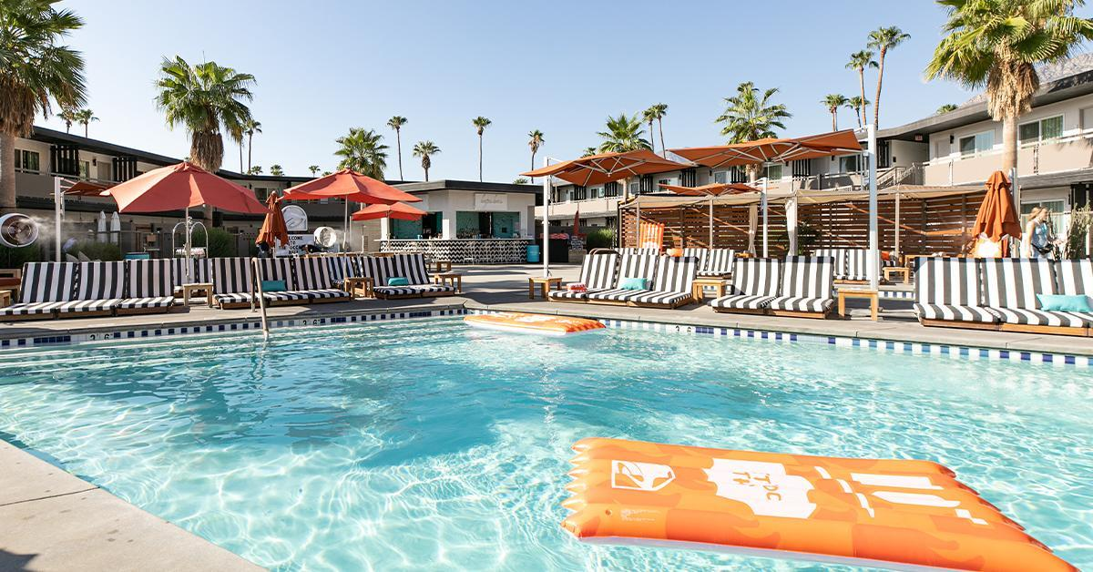 """""""The Bell"""" offers guests exclusive Taco Bell dishes, branded pool floaties and more (Courtesy: Taco Bell)"""