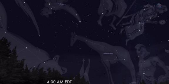 New Meteor Shower Tonight: Will Bad Weather Spoil the Celestial Show?