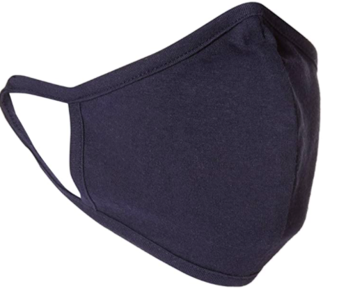 This mask features a double layer of lightweight jersey for breathability. (Photo: Amazon)