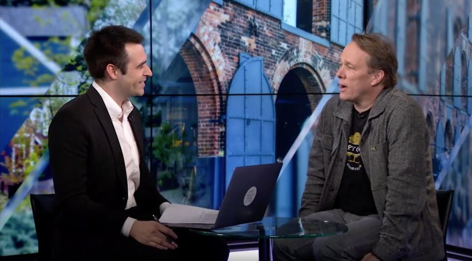 Canopy Growth CEO Bruce Linton (right) explains why hemp deserves the $500 million his company is prepared to invest in building cultivation centers in an exclusive interview with Yahoo Finance's Zack Guzman.