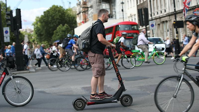 E-scooters allowed on Britain's roads from Saturday