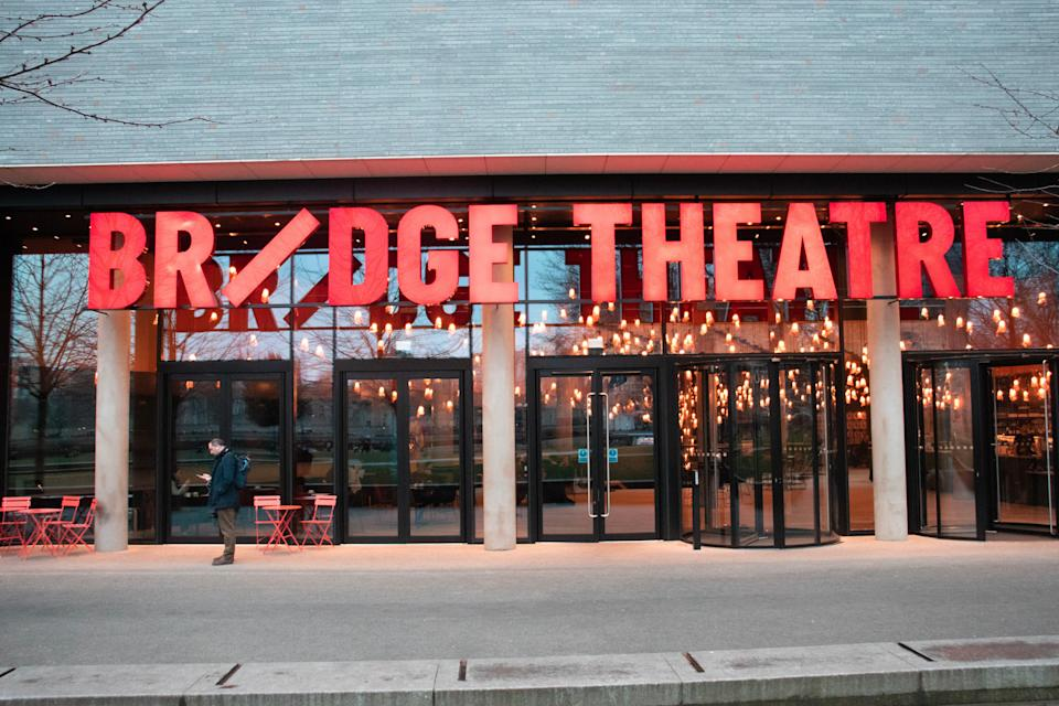 The Bridge Theatre in London has reopened its doors for audiences  (Shutterstock / Diana Vucane)