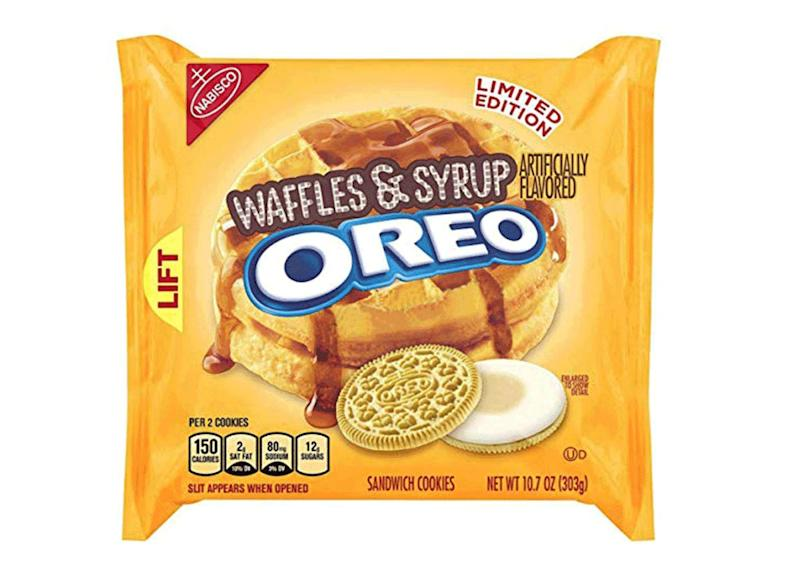 waffles & syrup oreo pack limited edition