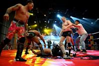 Who will be the king of the ring: Middle Kingdom Wrestling brings WWE-style contests to China