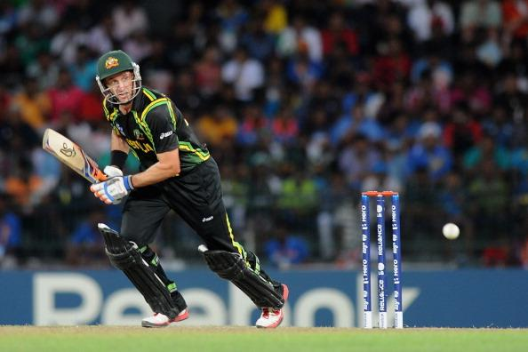 COLOMBO, SRI LANKA - SEPTEMBER 30:  Michael Hussey of Australia bats during the Ninth super eight match between Australia and South Africa held at R. Premadasa Stadium on September 30, 2012 in Colombo, Sri Lanka.  (Photo by Pal Pillai/Getty Images,)