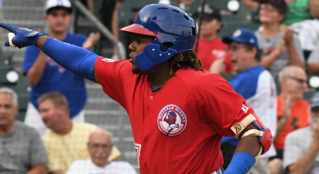 Toronto identified Guerrero Jr.'s potential at a very young age.
