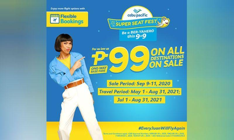 #EveryJuanWillFlyAgain with Cebu Pacific's 9.9 Super Seat Fest