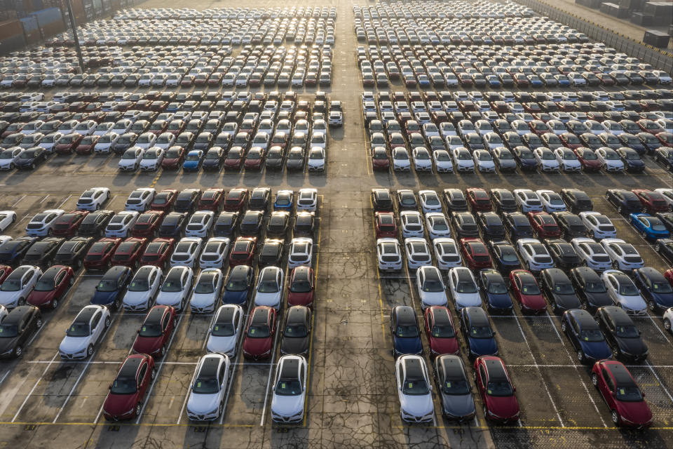 It was the weakest August since 2013 for car registrations in the UK. Photo: Getty