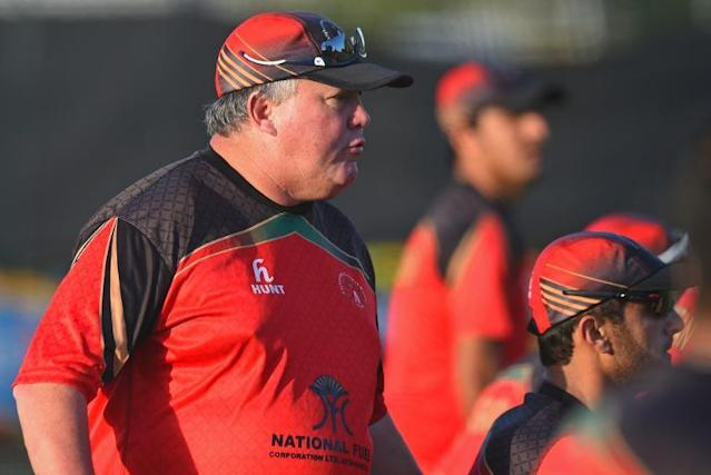 Afghanistan coach Moles vows to carry on despite amputated leg
