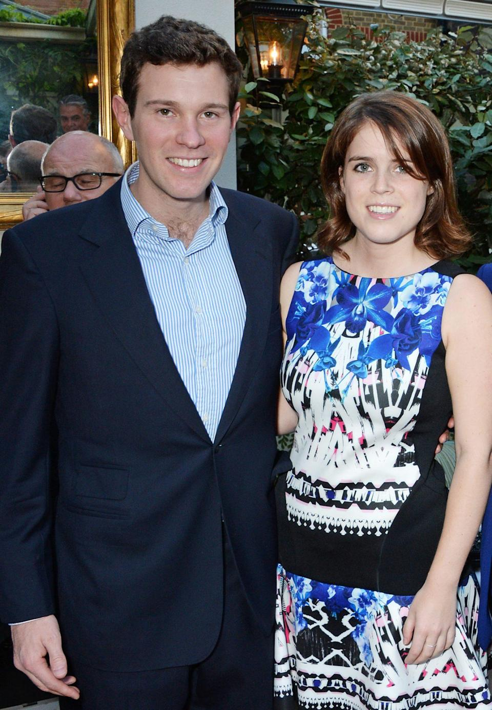 "<p>From 2013 to 2015, the couple made their relationship long distance while Eugenie lived in New York City for work. </p> <p>""We spend a lot of time on Skype,"" Jack told the <em>Daily Mail</em>. ""It's great. We are still very much together.""</p>"