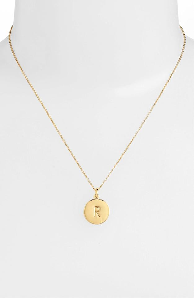 "<p>This <a href=""https://www.popsugar.com/buy/Kate-Spade-New-York-One-Million-Initial-Pendant-Necklace-526569?p_name=Kate%20Spade%20New%20York%20One%20in%20a%20Million%20Initial%20Pendant%20Necklace&retailer=shop.nordstrom.com&pid=526569&price=35&evar1=fab%3Aus&evar9=42665016&evar98=https%3A%2F%2Fwww.popsugar.com%2Ffashion%2Fphoto-gallery%2F42665016%2Fimage%2F45378925%2FKate-Spade-New-York-One-Million-Initial-Pendant-Necklace&list1=shopping%2Cgifts%2Cjewelry%2Choliday%2Cgift%20guide%2Choliday%20fashion%2Cfashion%20gifts%2Cgifts%20for%20women%2Cgifts%20under%20%24100&prop13=mobile&pdata=1"" rel=""nofollow"" data-shoppable-link=""1"" target=""_blank"" class=""ga-track"" data-ga-category=""Related"" data-ga-label=""https://shop.nordstrom.com/s/kate-spade-new-york-one-in-a-million-initial-pendant-necklace/3628637/full?origin=category-personalizedsort&amp;breadcrumb=Home%2FBrands%2Fkate%20spade%20new%20york&amp;color=r-%20gold"" data-ga-action=""In-Line Links"">Kate Spade New York One in a Million Initial Pendant Necklace</a> ($35, originally $58) makes for a great personalized gift.</p>"