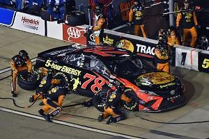 Reigning NASCAR Cup series champion Martin Truex Jr says he and his Furniture Row Racing team beat themselves at Richmond after pit problems and a failed strategy left him 14th