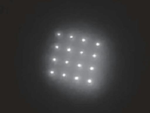 This undated handout image obtained December 18, 2019, courtesy of  K.J. McHugh et al., Science Translational Medicine (2019), shows quantum dots after being administered to the skin of rodents
