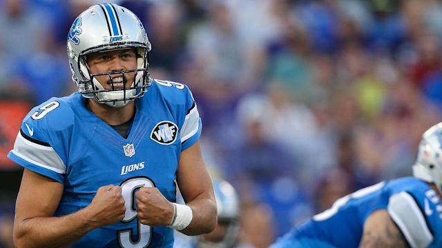 Stafford enjoyed a tremendous 2016 season before a late-season injury affected his throwing.