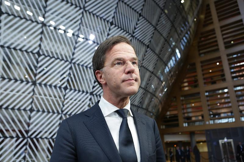 Netherlands' Prime Minister Mark Rutte said Japan and EU powers are working 'very hard' to prevent Britain leaving the bloc without a deal