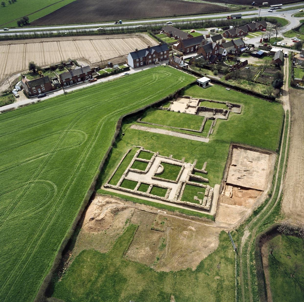 Wall Roman Site in Staffordshire (English Heritage/PA)