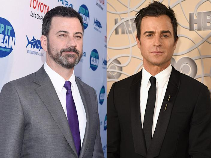 jimmy kimmel  justin theroux