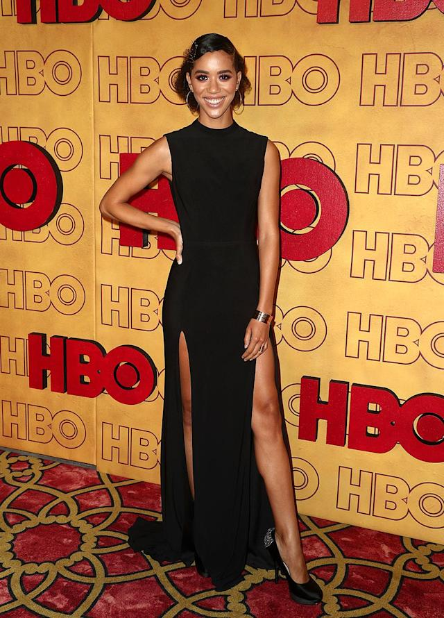 <p><em>The Leftovers</em> actress Jasmin Savoy Brown attended HBO's Post Emmy Awards Reception at the Plaza at the Pacific Design Center. (Photo: Frederick M. Brown/Getty Images) </p>