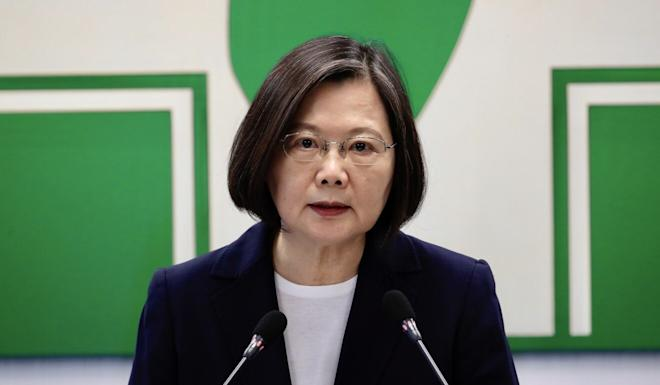 President Tsai Ing-wen has refused to recognise the agreement. Photo: EPA-EFE