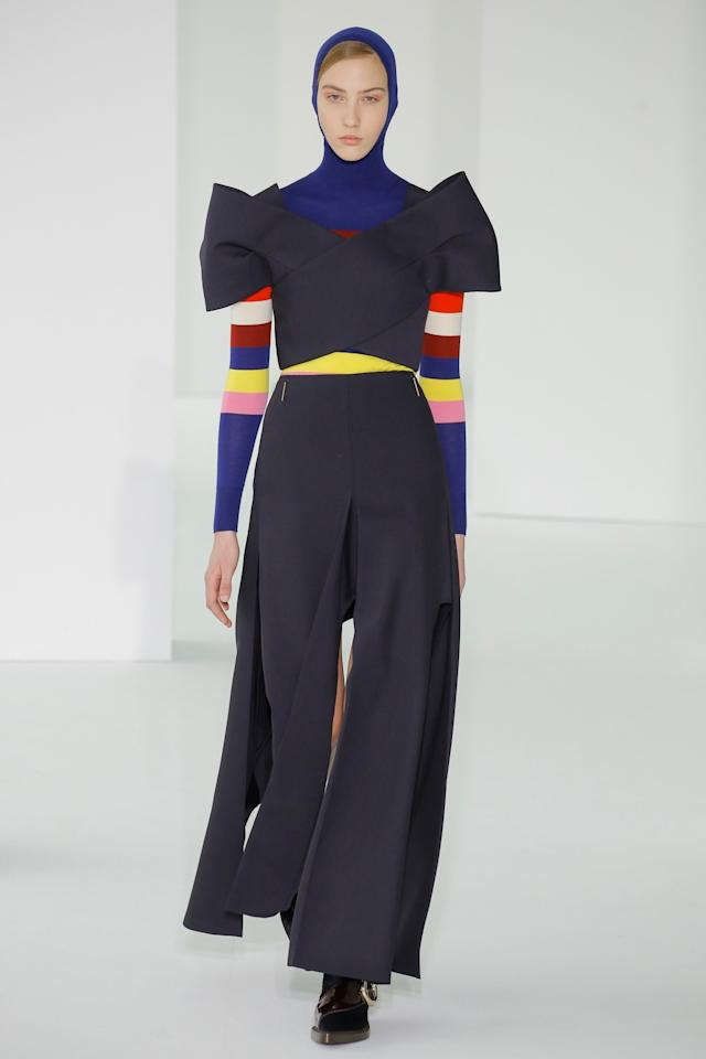 <p>Delpozo Fall Winter 2017 (Photo: Getty Images) </p>