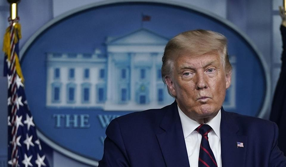 """US President Donald Trump's administration, Wang said, had been """"going in the wrong direction"""" in its policies toward China. Photo: Getty Images via TNS"""