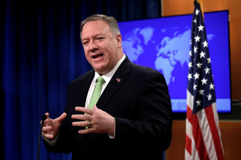 Pompeo expresses support for Arsenal player in criticism of China's treatment of Uighurs