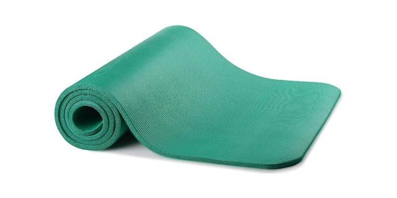 A Yoga Mat for Mid-Day Exercise