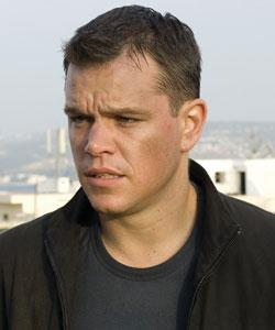 Matt Damon as Jason Bourne