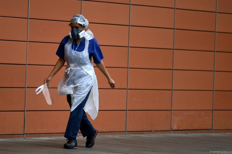 The study was conducted during a period when there was an acute global shortage of protective equipment