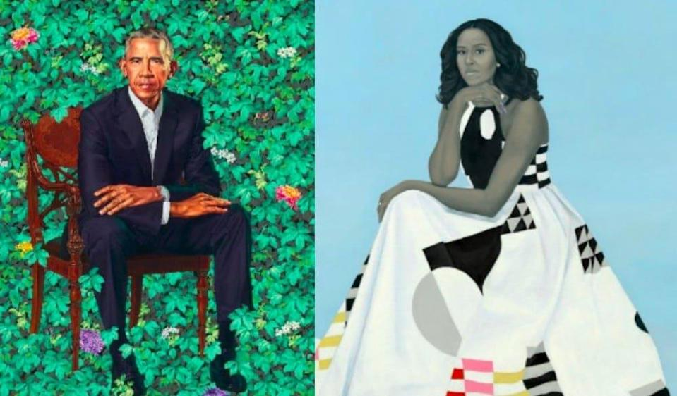 (Photo: Kehinde Wiley and Amy Sherald)