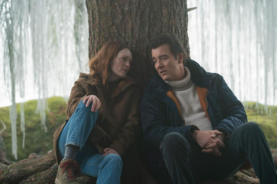 """Julianne Moore as Lisey and Clive Owen as Scott in """"Lisey's Story."""""""