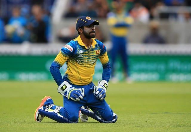 Niroshan Dickwella is one of three Sri Lanka players flying home after an unauthorised night out.