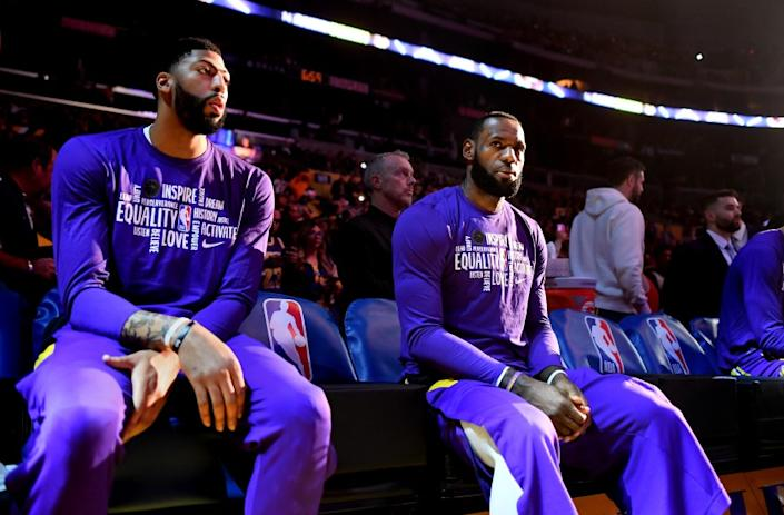 Majority of Lakers players in L.A. get tested for coronavirus