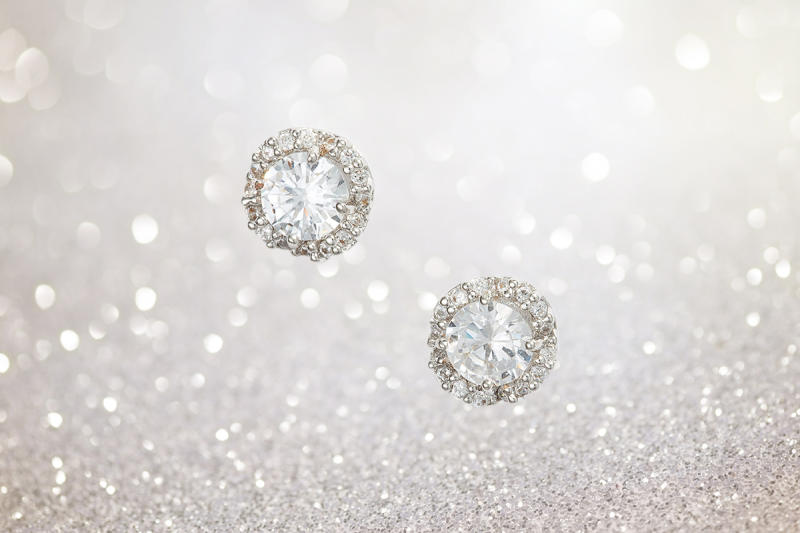 These earrings will light up a room. (Photo illustration: Yahoo Lifestyle; Photo: Nordstrom)