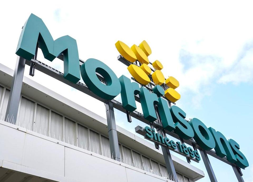 Takeover target Morrisons. (Ian West/PA) (PA Wire)