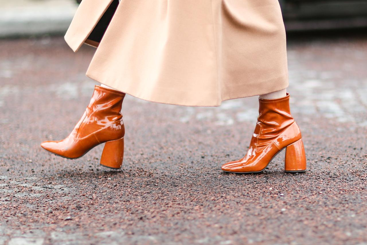 """<p>Ankle boots are staples in everyone's closet, just as much as a pair of blue jeans or a white t-shirt. They're <a href=""""https://www.marieclaire.com/fashion/a29492530/boots-types/"""" target=""""_blank"""">your go-to shoes </a>when the temperatures drop, and for the truly boot-obsessed, you'll wear them <a href=""""https://www.marieclaire.com/fashion/g14011850/how-to-wear-ankle-boots/"""" target=""""_blank"""">even in the summer</a> underneath a slip dress or with denim shorts. This style comes in a <a href=""""https://www.marieclaire.com/fashion/g2387/fall-boot-guide/"""" target=""""_blank"""">variety of designs</a>, which makes it all the more difficult to not buy every pair you see on sight. We'll help you narrow down your bootie options for 2020, though—retailers have released their initial ankle boot offerings of the season, and the options do not disappoint. Whether you're gravitating towards another pair of the classic black leather heeled boot or a heeled snakeskin design, the ankle boots ahead can dress up or lend a more casual air to your ensembles. </p>"""