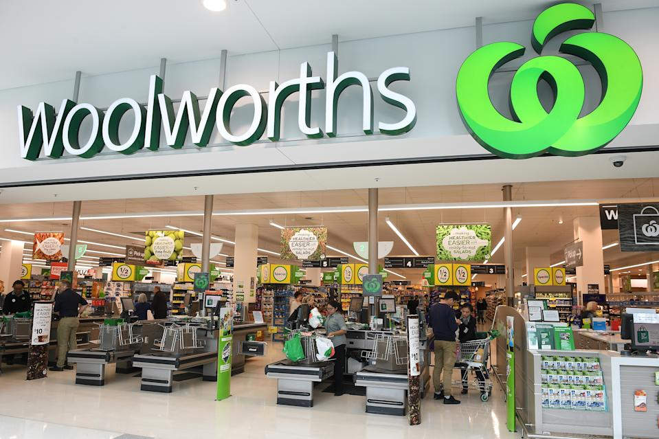 Pictured is Woolworths' in Double Bay, Sydney, in 2018. Source: AAP Image/Dan Himbrechts