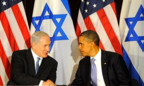 President Obama meets with Israeli Prime Minister Benjamin Netanyahu on Sept. 21: The two leaders have a notoriously chilly relationship.