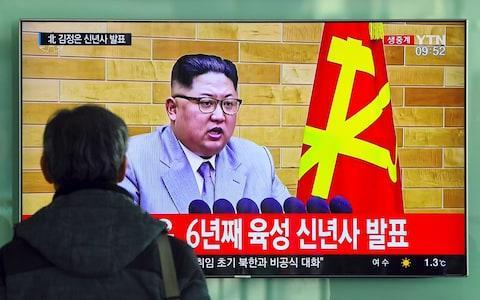"""North Korea on Tuesday agreed to send athletes and cheerleaders to next month's Winter Olympics in South Korea and to hold talks with Seoul to ease military tensions, in the most significant diplomatic breakthrough between the neighbouring countries in years. The two sides came face to face for the first time since December 2015 at 10am in the Panmunjom """"truce village"""" which straddles the heavily fortified border that has divided the North and South for six decades. After a meeting that began jovially, the tentative thaw in relations now means that Pyongyang will allow athletes, supporters, cheerleaders, art performers and a taekwondo demonstration team to attend the February 9-25 Games in the ski resort of Pyeongchang. The two nations, who are still technically at war, also pledged in a joint statement to negotiate further to deescalate military tensions and to restore a military hotline on the western peninsula that had been suspended for nearly two years. After a year of sabre-rattling on the Korean Peninsula, the signs of a fragile détente, which arose unexpectedly after Kim Jong-un made conciliatory overtures in a New Year's Day speech, have raised distant hopes of a possible international resolution over his nuclear weapons programme. The meeting, with five veteran negotiators on each side, also discussed a potential reunion of families separated by the Korean War in the 1950s, with Seoul requesting this take place around the Lunar New Year of February 16. North Korean delegation meets South Korean delegation But the most significant progress was made in an agreement to """"actively cooperate"""" in making a success of the Winter Olympics. The rapprochement could see athletes from both Koreas walk together during the opening ceremony and Seoul has indicated it will consider temporarily suspending certain sanctions to ease the North's participation. While the inclusion of a cheering squad may have seemed like an odd negotiating priority, the role of cheerleaders, han"""