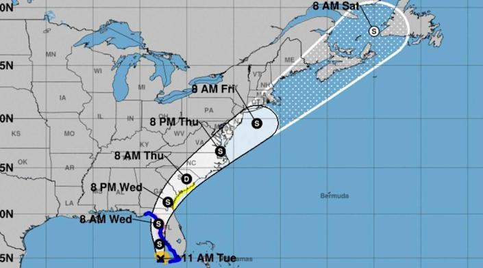 Tropical Storm Elsa is forecast to affect the Midlands.
