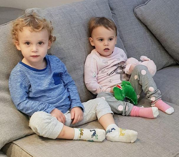 Twins Jake and Chloe Ford, who were killed by their mother aged 23 months (SWNS)
