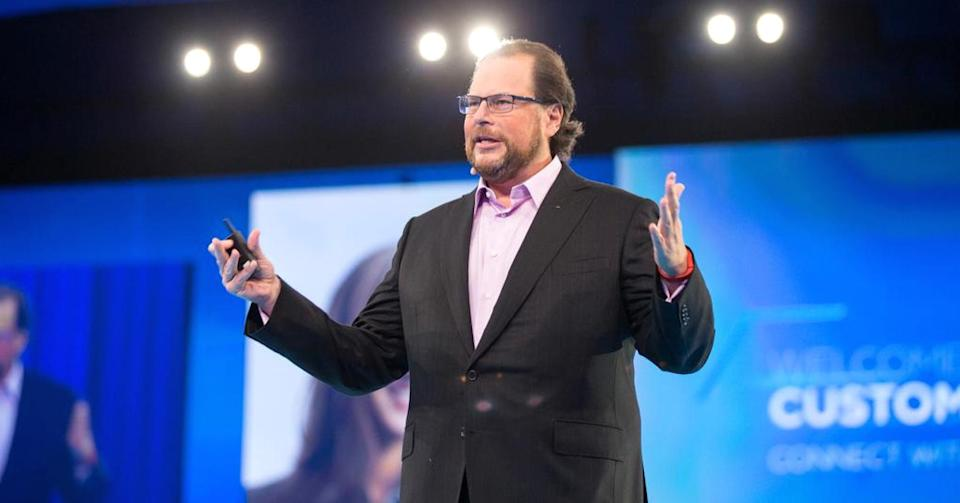 Salesforce CEO Marc Benioff spent $3M closing the wage gap at his company. Copyright© 2014 by Jakub Mosur.