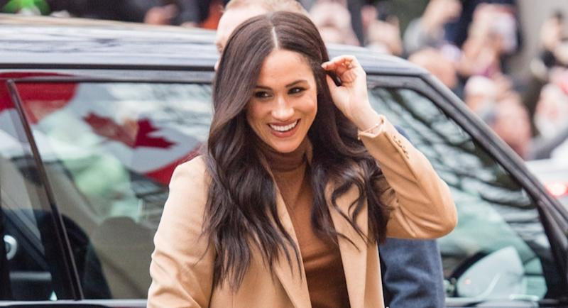 Meghan Markle made a subtle outfit change while visiting women's charities in Canada - for a meaningful reason [Image: Getty]