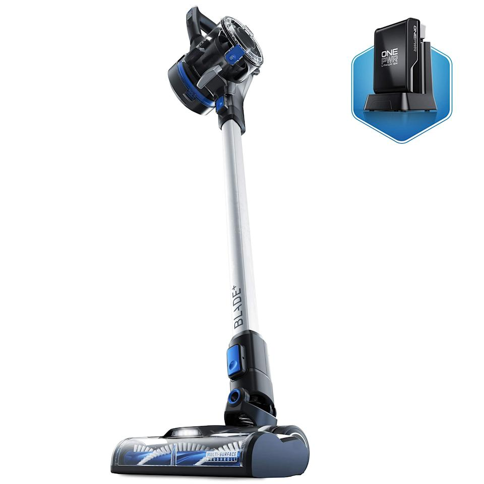 """<h2>Hoover</h2><br>Hoover and its classic vacs are going for up to 32% off ahead of Amazon Prime Day.<br><br>Shop <strong><em><a href=""""https://amzn.to/2UaXTPJ"""" rel=""""nofollow noopener"""" target=""""_blank"""" data-ylk=""""slk:Hoover"""" class=""""link rapid-noclick-resp"""">Hoover</a></em></strong><br><br><strong>Hoover</strong> ONEPWR Blade+ Cordless Stick Vacuum Cleaner, $, available at <a href=""""https://amzn.to/3cJfMLI"""" rel=""""nofollow noopener"""" target=""""_blank"""" data-ylk=""""slk:Amazon"""" class=""""link rapid-noclick-resp"""">Amazon</a>"""