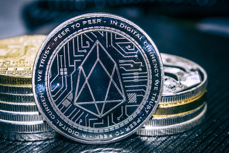 EOS price is up over 200% this year and has seen a further boost this week ahead of a major announcement. | Source: Shutterstock