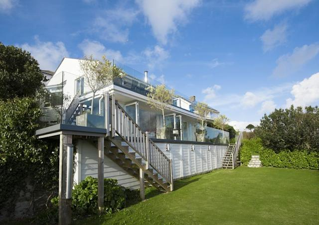 For sale take a look at these dream coastal homes from for Modern house zoopla
