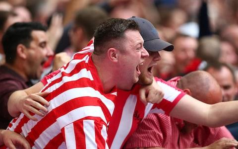 Sunderland fans rejoice - Credit: Charlie Crowhurst/Getty Images