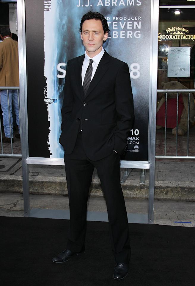 "<a href=""http://movies.yahoo.com/movie/contributor/1808394958"">Tom Hiddleston</a> at the Los Angeles premiere of <a href=""http://movies.yahoo.com/movie/1800063512/info"">Super 8</a> on June 8, 2011."