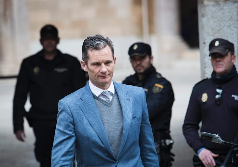 Spain king's brother-in-law loses appeal, gets 5 years for graft