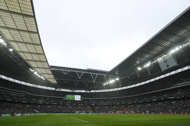 American businessman Shahid Khan could be about to buy Wembley from the English Football Association (AFP Photo/Adrian DENNIS)